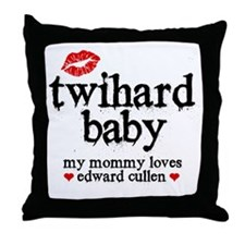 Twihard Baby Throw Pillow