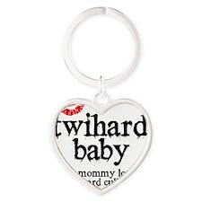 Twihard Baby Heart Keychain