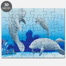 manatees-3-square Puzzle