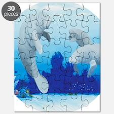 manatees-3-round Puzzle