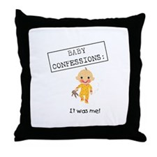 Smelly Baby Throw Pillow