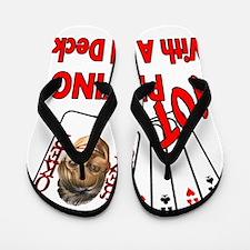 notfulldeck_dark Flip Flops