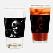 badkittyCPcalprint Drinking Glass