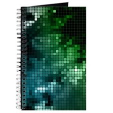 Mosaic Green (4G slider) Journal