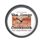 Congo Cookbook Wall Clock