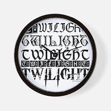 twilight sampler copy Wall Clock