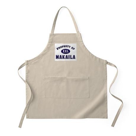 Property of makaila BBQ Apron