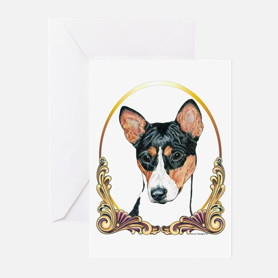 Basenji Christmas/Holiday Greeting Cards (Package