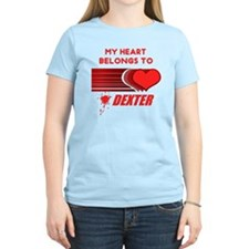 my-heart-belongs-to-dexter T-Shirt