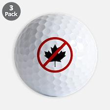 canadians Golf Ball
