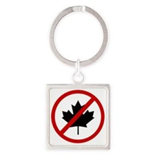 canadians Square Keychain