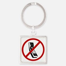 cell phones Square Keychain