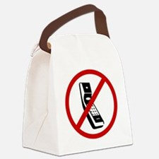 cell phones Canvas Lunch Bag