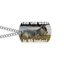 goat40ys Dog Tags