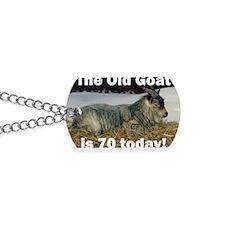 goat70ys Dog Tags