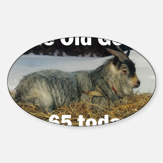 goat65ys Sticker (Oval)