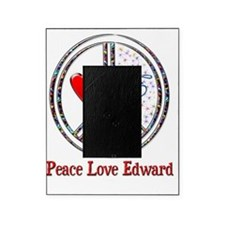 peace love edward Picture Frame