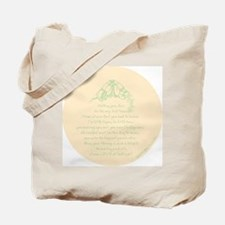 Love at First Sight Ornament-Yellow Tote Bag