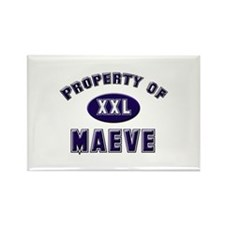 Property of maeve Rectangle Magnet