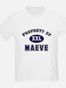 Property of maeve Kids T-Shirt