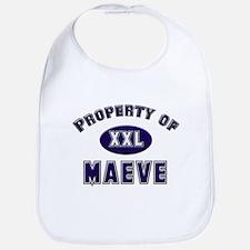Property of maeve Bib