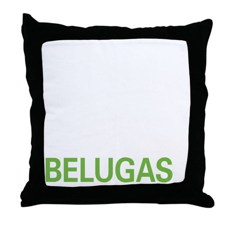 livebeluga2 Throw Pillow