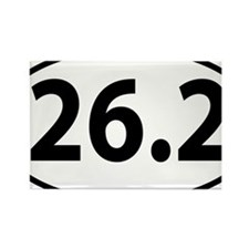 26.2 marathon Rectangle Magnet