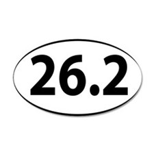 26.2 marathon Wall Sticker