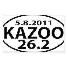 KAZOO 26.2 - kalamazoo maratho Decal