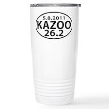 KAZOO 26.2 - kalamazoo marathon Travel Mug