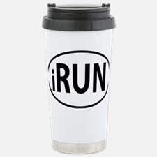 iRun Stainless Steel Travel Mug