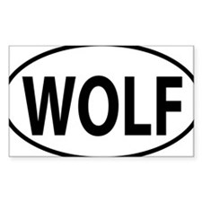 WOLF Decal