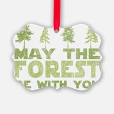 may the forest be with you light  Ornament