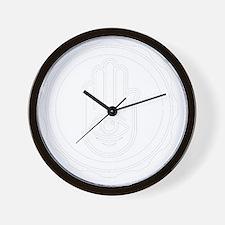 BHN_HandLogoCROP Wall Clock