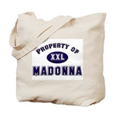 Property of madonna Tote Bag