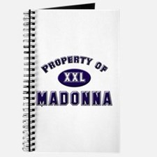 Property of madonna Journal