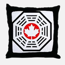 Dharma Eh Calendar Throw Pillow