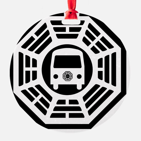 Van Calendar Ornament