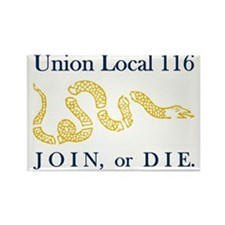unionlocal116rectangle Rectangle Magnet