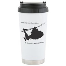 Wings are for fairies Travel Mug