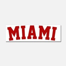 Miami Red BB Car Magnet 10 x 3
