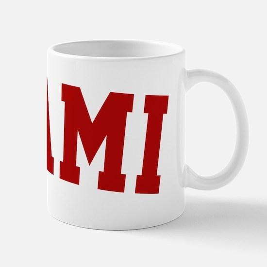 Miami Red BB Mug