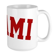 Miami Red BB Mug