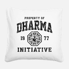 Dharma77 Square Canvas Pillow