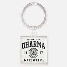 Dharma77 Square Keychain