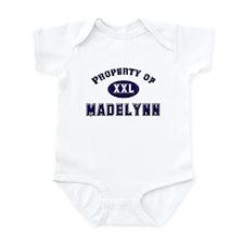Property of madelynn Infant Bodysuit