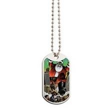 santzilla Dog Tags