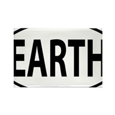 EARTH Rectangle Magnet