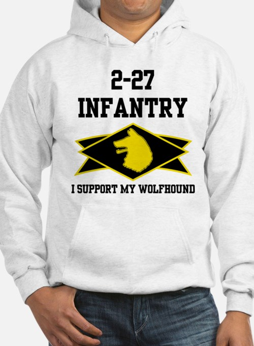 2-27 Infantry Wolfhounds Hoodie