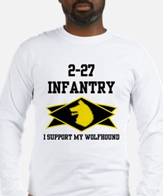 2-27 Infantry Wolfhounds Long Sleeve T-Shirt